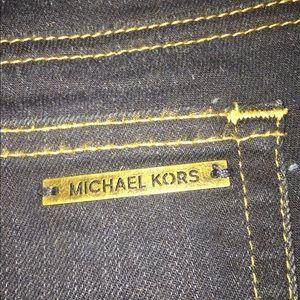 MK dark wash jeans